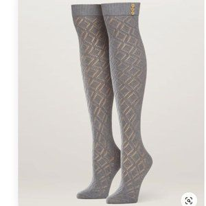 Pact Grey Over The Knee Socks